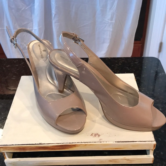 Bandolino Shoes - Bandolino pump  heels. Size 7.5M. Beige.